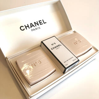 CHANEL - CHANEL N°5 サヴォン ギフトセット