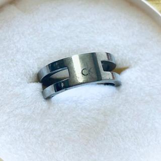 カルバンクライン(Calvin Klein)の【Calvin Klein】指輪★デザインリング(リング(指輪))