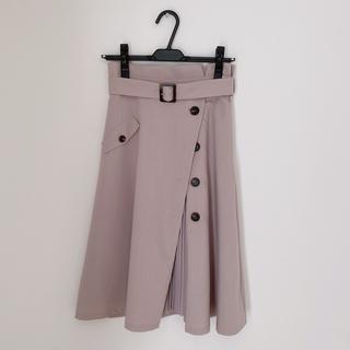 ファビュラスアンジェラ(Fabulous Angela)のファビュラスアンジェラ プリーツ スカート 人気 2way トレンチ風 送料込み(ひざ丈スカート)