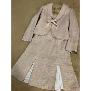 クミキョク(kumikyoku(組曲))の組曲 フォーマル 入学式 ワンピース リボン フリル(スーツ)