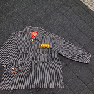 シップスキッズ(SHIPS KIDS)のSHIPS KIDS デニムシャツ 100サイズ(Tシャツ/カットソー)