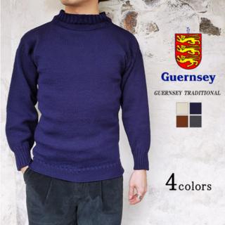 バーニーズニューヨーク(BARNEYS NEW YORK)の【size:36】Guernsey Woollens ガンジーセーター(ニット/セーター)
