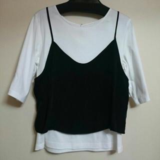 ルカ(LUCA)のLUCA ビスチェ Tシャツ セット(Tシャツ(長袖/七分))