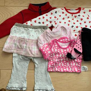 ダブルビー(DOUBLE.B)の女の子 セット 80 冬物 ダブルB、babyGap、キムラタン等(ジャケット/上着)