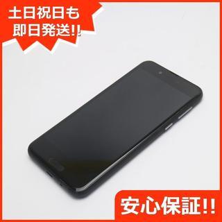 アクオス(AQUOS)の美品 SHV40 ブラック 本体 白ロム (スマートフォン本体)