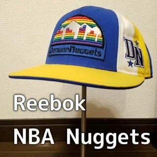 リーボック(Reebok)のReebok × NBA hardwoodclassics Nuggets 帽子(バスケットボール)