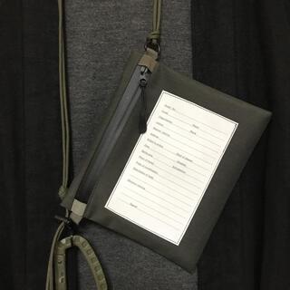 エンジニアードガーメンツ(Engineered Garments)の絶品 GORE-TEX パーソナルエフェクトバッグ サコッシュ(ショルダーバッグ)