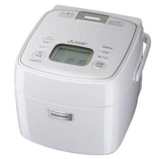ミツビシデンキ(三菱電機)の新品未使用備長炭 炭炊釜 NJ-SEA06-W ピュアホワイト(炊飯器)