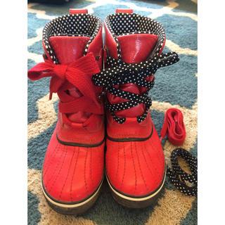 ソレル(SOREL)のhi様専用 10/1までお取置き SORELのレインブーツ 23.5cm(レインブーツ/長靴)
