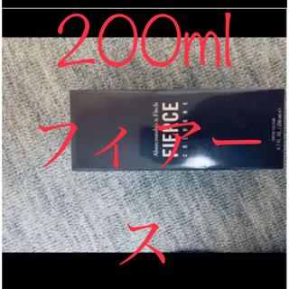 アバクロンビーアンドフィッチ(Abercrombie&Fitch)の新品 200ml フィアース FIERCE アバクロンビー&フィッチ 未開封(香水(男性用))