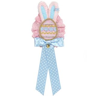 アンジェリックプリティー(Angelic Pretty)のHappines bunny ブローチ ピンク(ブローチ/コサージュ)
