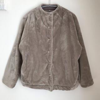 ムジルシリョウヒン(MUJI (無印良品))の無印良品 着る毛布 レディース M-Lサイズ(ノーカラージャケット)