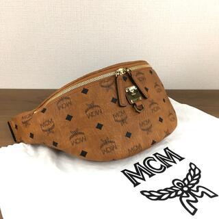 MCM - 未使用品 MCM ウエストポーチ メンズ レディース 保存袋付き 236