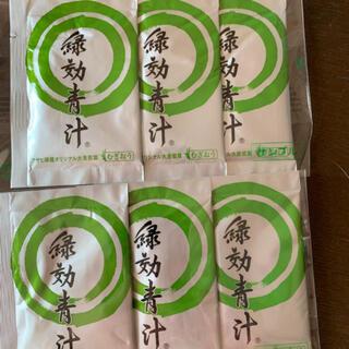 アサヒ(アサヒ)の緑効青汁 6袋セット アサヒ(青汁/ケール加工食品)