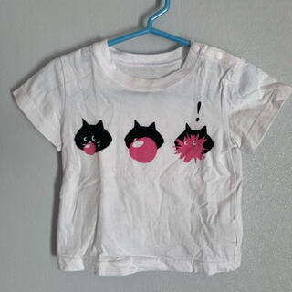 ネネット(Ne-net)のにゃー 半袖Tシャツ 80〜90センチ(Tシャツ)