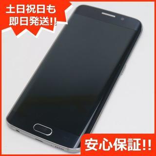 ギャラクシー(Galaxy)の超美品 au SCV31 Galaxy S6 edge サファイヤ (スマートフォン本体)