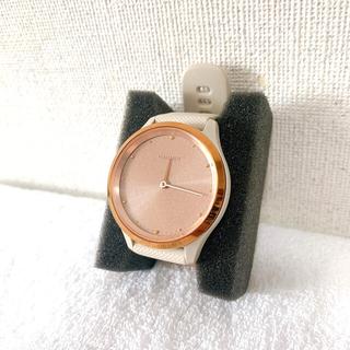 ガーミン(GARMIN)の【美品】GARMIN vivomove 3S Light スマートウォッチ(腕時計)
