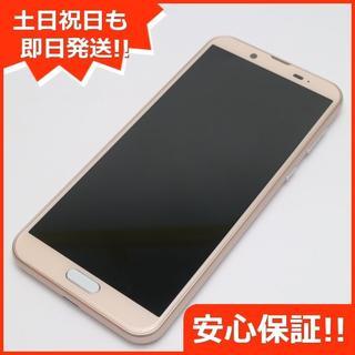 アクオス(AQUOS)の美品 SHV43 AQUOS sense2 ピンクゴールド (スマートフォン本体)