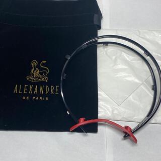 アレクサンドルドゥパリ(Alexandre de Paris)のアレクサンドルドゥパリ カチューシャ ヘッドバンド リボン(カチューシャ)