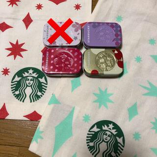 スターバックスコーヒー(Starbucks Coffee)のスタバ 2020 クリスマス ★ 限定ラッピング & アフターコーヒーミント(菓子/デザート)
