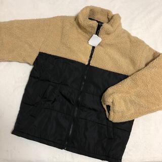 シマムラ(しまむら)の新品 ボア ブルゾン  M メンズ レディース コート ジャケット アウター(ブルゾン)