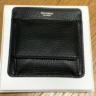ロンハーマン(Ron Herman)のロンハーマン  コンパクト財布 ラムレザー(コインケース/小銭入れ)