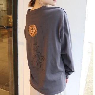 ムルーア(MURUA)のMURUA バックフラワーロングスリーブT(Tシャツ(長袖/七分))