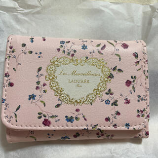 レメルヴェイユーズラデュレ(Les Merveilleuses LADUREE)のラデュレ お財布 GLOW 12月号付録(財布)