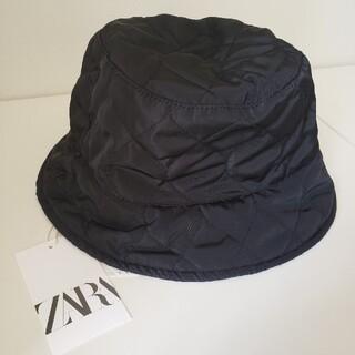 ZARA - ZARA キルティングバケットハット