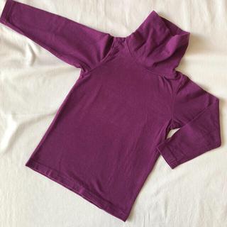 エムピーエス(MPS)のMPS タートルネック 紫 100cm(Tシャツ/カットソー)