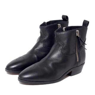 ゴールデングース(GOLDEN GOOSE)のGOLDEN GOOSE★ダブル ZIP ショートブーツ BOOTS VIAND(ブーツ)