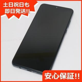 アンドロイド(ANDROID)の新品同様 Y!mobile HUAWEI P30 lite ブラック (スマートフォン本体)