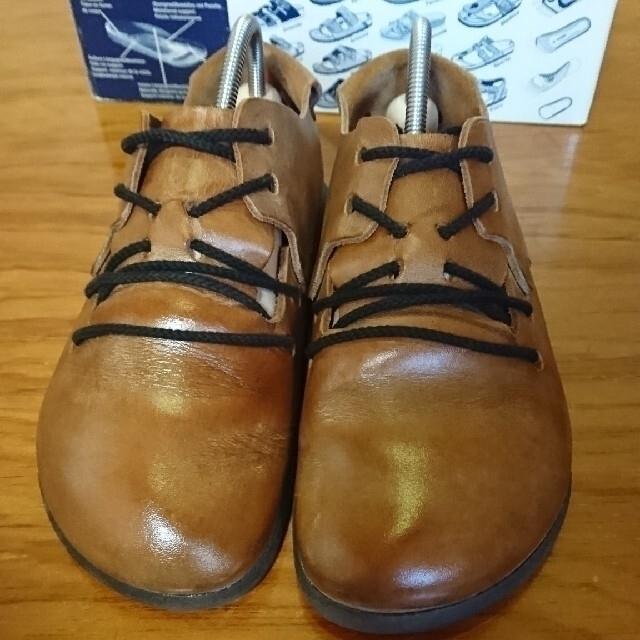 BIRKENSTOCK(ビルケンシュトック)のモガ スタイル様 専用 ビルケンシュトック モンタナ 廃盤 キャメル メンズの靴/シューズ(ドレス/ビジネス)の商品写真