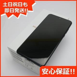 アンドロイド(ANDROID)の新品 UQmobile HUAWEI P30 lite ブラック (スマートフォン本体)