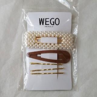 ウィゴー(WEGO)のWEGO ウィゴー パールヘアピン アソート 5本組 ヘアアクセサリー(ヘアピン)