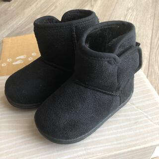 シマムラ(しまむら)のバースデイ★ムートンブーツ 黒 13.0(ブーツ)