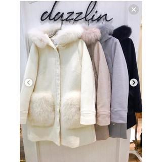 ダズリン(dazzlin)のdazzlin FOXファーポケットコート(毛皮/ファーコート)