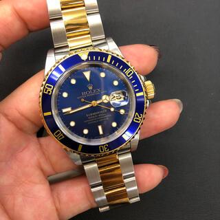 ロレックス(ROLEX)の中古美品!ロレックス サブマリーナ ブルー コンビ腕時計(腕時計(アナログ))
