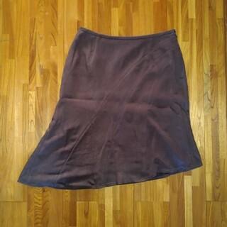 クードシャンス(COUP DE CHANCE)のスウェードスカート(ひざ丈スカート)
