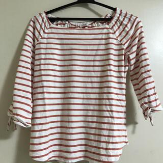 ハニーズ(HONEYS)の美品 七分袖 ロンT ボーダー Tシャツ(Tシャツ(長袖/七分))