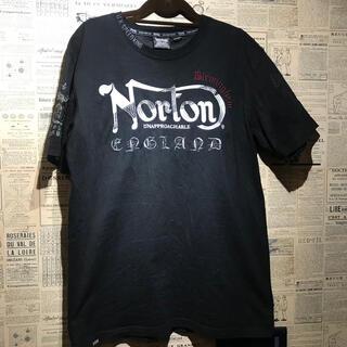 ノートン(Norton)のNorton ノートン 刺繍 半袖Tシャツ サイズXL(Tシャツ/カットソー(半袖/袖なし))