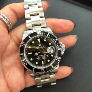 ロレックス(ROLEX)の中古美品!ロレックス サブマリーナ ブラック16610(腕時計(アナログ))