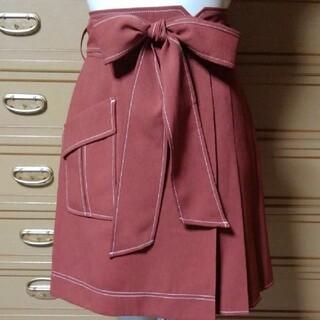 リランドチュール(Rirandture)のリランドチュール  リボンタイ付きスカートパンツ 新品未使用(その他)