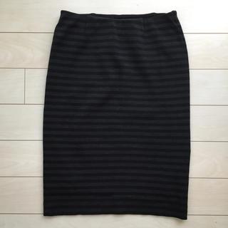 ドゥーズィエムクラス(DEUXIEME CLASSE)のドゥーズィエム♡ボーダータイトスカート(ひざ丈スカート)