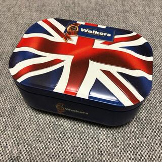カルディ(KALDI)のウォーカー ユニオンジャック ミニチュア缶 (小物入れ)