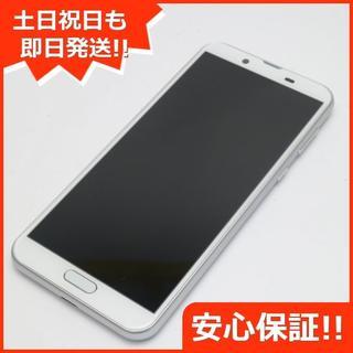 シャープ(SHARP)の美品 SH-M08 AQUOS sense2 ホワイトシルバー (スマートフォン本体)