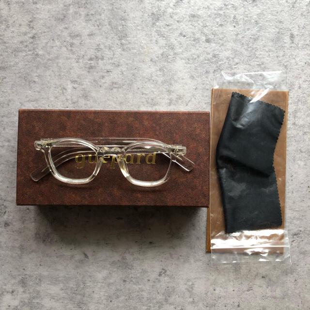 Ayame(アヤメ)のguepard ギュパール gp-01 クリア メガネ メンズのファッション小物(サングラス/メガネ)の商品写真