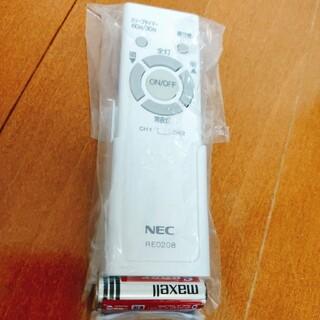 エヌイーシー(NEC)のNEC LEDシーリングライト用リモコン RE0208(天井照明)