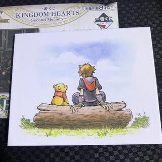 ディズニー(Disney)のキングダムハーツ  一番くじ キャンバスボード(キャラクターグッズ)