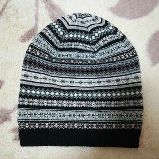 ユニクロ(UNIQLO)のニット帽(ニット帽/ビーニー)